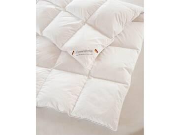 Winter-Federbett - 155 x 220 cm - bunt - 100% Baumwolle, weiße neue Daunen und Federn Klasse 1, 90% Daunen - 10% Federn, Qualitätstyp Europa