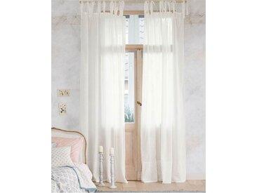 Vorhang Belmont - 285cm x 140cm - Creme/Weiß - 100 % Baumwolle