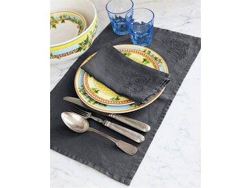 Tischset anthrazit - one size - bunt - 100 % Leinen