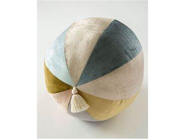 Samtkissenball mit Quaste - one size - bunt - 100 % Viskose