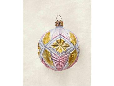 Weihnachtsschmuck Art déco-Kugel - one size - bunt - Glas