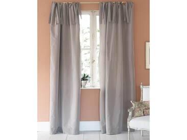 Vorhang Mauve - Faux Silk - 240cm x 135cm - Mauve - Vorhang: 100 % Faux Silk / Abfütterung: 100 % Baumwolle