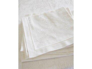 Serviette Blanca - one size - bunt - 48 % Leinen, 52 % Baumwolle