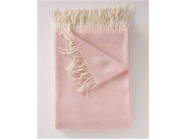 Wolldecke rosa - one size - bunt - 90 % Merinowolle, 10 % Kaschmir