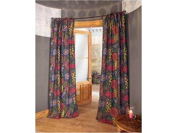Vorhang Fleurs Sauvages - 140 x 285 - bunt - 100 % Baumwolle