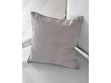 Kissenhülle mauve - Faux Silk - 40cm x 40cm - Mauve - 100% Faux-Silk