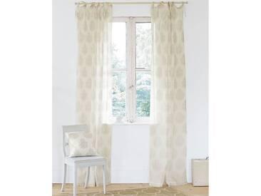 Vorhang Orient - 240cm x 105cm - Beige/Offwhite - 100 % Baumwolle