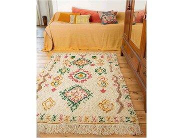 Teppich Berber - one size - bunt - Wollmix, Bambusseide