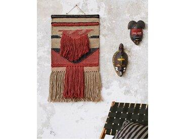 Wandbehang Fransen - one size - bunt - Jute