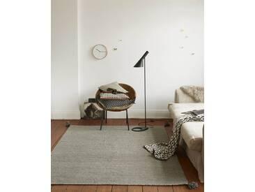 Teppich Antwerpen - 230cm x 160cm - Grau - 80 % Wolle, 20 % Baumwolle