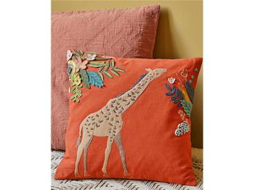 Kissenhülle Giraffe - one size - bunt - 100 % Baumwolle