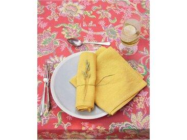 Serviette zitronengelb - one size - bunt - 100 % Baumwolle