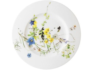 Rosenthal Selection Brillance Fleurs des Alpes Brot-/Frühstücksteller Fahne 19 cm