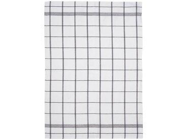Södahl Minimal White / Black Geschirrtuch 50x70 cm