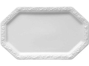 Rosenthal Tradition Maria weiß Milch-/Zucker-Tablett 27 x 16,5 cm