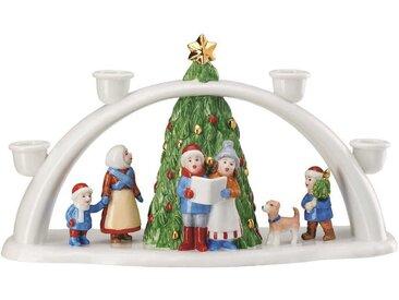 Hutschenreuther Weihnachtsmarkt Lichterbogen 33,5x11,5x18,5 cm