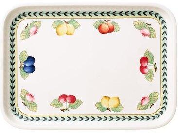 Villeroy & Boch French Garden Backform Servierplatte rechteckig 36x26 cm / Deckel für Backform