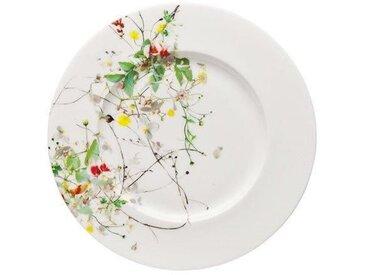 Rosenthal Selection Brillance Fleurs Sauvages Brot-/Frühstücksteller Fahne = Sauciere Untersetzer 19 cm