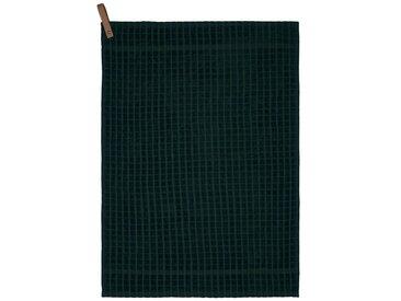 Södahl Simplicity Deep Green / Pine Green Küchenhandtuch 50x70 cm