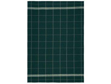 Södahl Minimal Deep Green / Leaf Green Geschirrtuch 50x70 cm