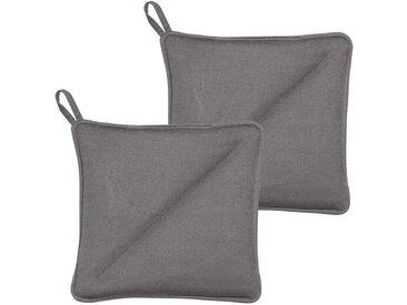 Södahl Soft Grey Topflappen 20x20 cm Set 2-tlg.