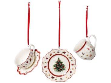 Villeroy & Boch Toy's Delight Decoration Ornamente Geschirrset - Hänger 6,3 cm Set 3-tlg.