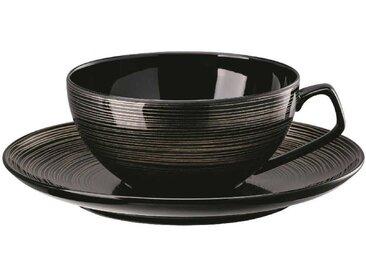 Rosenthal Studio-line TAC Gropius Stripes Teeobertasse 0,24 L mit Teeuntertasse 16 cm im Geschenkkarton 2-tlg