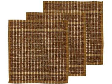 Södahl Simplicity Golden Spültuch 30x30 cm Set 3-tlg.