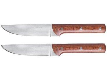 Sambonet Porterhouse - Ahornholz Steakmesser-Set, glatte Klinge 2-tlg.