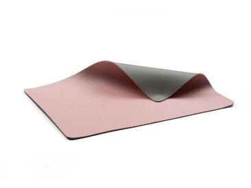 Bitz Living grey / light pink Tischset 46x33 cm 4-tlg.