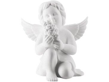 Rosenthal Selection Engel Engel mit Blumen mittel weiß matt 10 cm