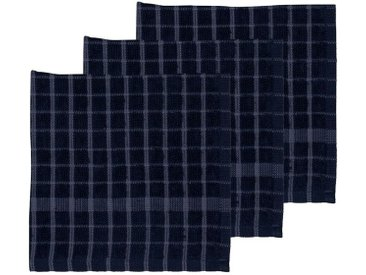 Södahl Simplicity Indigo / China Blue Spültuch 30x30 cm Set 3-tlg.