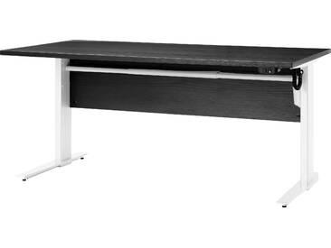 Schreibtisch Prima höhenverstellbar elektrisch ergonomisch 150cm schwarz grau