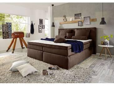 Funktionspolsterbett IDAHO 1 Boxspringbett Doppelbett Polsterbett Schlafzimmer 160 x 200 cm dunkelbraun