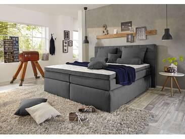 Funktionspolsterbett IDAHO 2 Boxspringbett Doppelbett Polsterbett Schlafzimmer 180 x 200 cm anthrazit