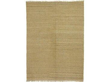 Kelim Fars Teppich Perserteppich 207x152 cm Handgewebt Klassisch
