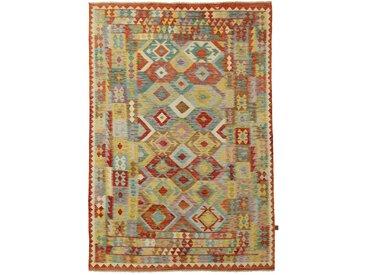Kelim Afghan Teppich Orientalischer Teppich 289x197 cm Handgewebt Klassisch
