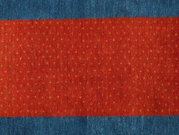 Perser Gabbeh Loribaft Teppich Persischer Teppich 129x83 cm Handgeknüpft Modern