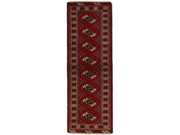 Turkaman Teppich Orientteppich 197x63 cm, Läufer Handgeknüpft Klassisch