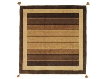 Loom Gabbeh Lori Teppich Orientalischer Teppich 206x200 cm, Quadrat, Indien Handgeknüpft Modern