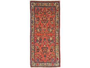 Sarough Teppich Orientalischer Teppich 151x65 cm, Läufer Handgeknüpft Klassisch