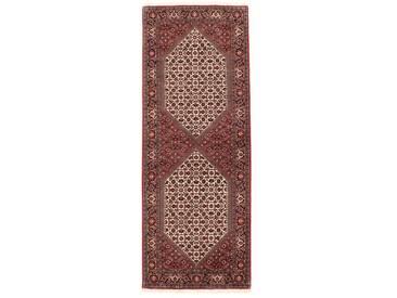 Bidjar Tekab Teppich Orientalischer Teppich 202x77 cm, Läufer Handgeknüpft Klassisch
