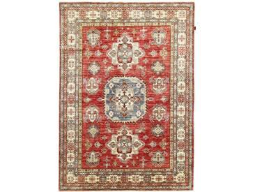 Super Kazak Teppich Orientalischer Teppich 268x191 cm Handgeknüpft Klassisch