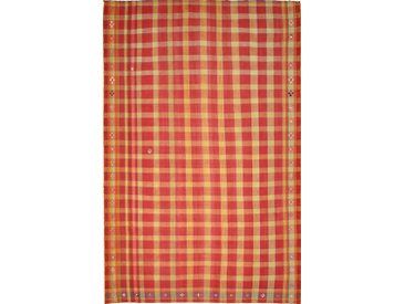 Kelim Fars Mazandaran Teppich Orientteppich 214x143 cm Handgewebt Klassisch