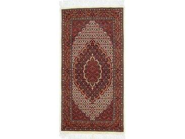 Bidjar Teppich Perserteppich 149x75 cm, Läufer Handgeknüpft Klassisch