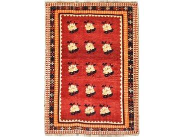 Perser Gabbeh Alt Teppich Orientalischer Teppich 168x118 cm Handgeknüpft Modern