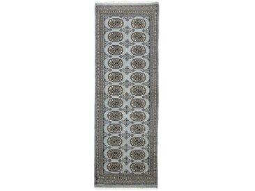 Pakistan Buchara 2ply Teppich Orientalischer Teppich 174x59 cm, Läufer, Pakistan Handgeknüpft Klassisch