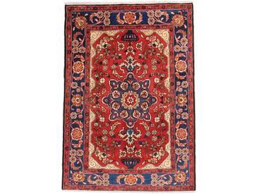 Nahavand Teppich Orientalischer Teppich 201x140 cm Handgeknüpft Klassisch