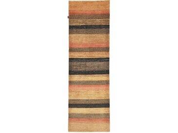 Ziegler Gabbeh Teppich Orientalischer Teppich 293x91 cm, Läufer Handgeknüpft Modern