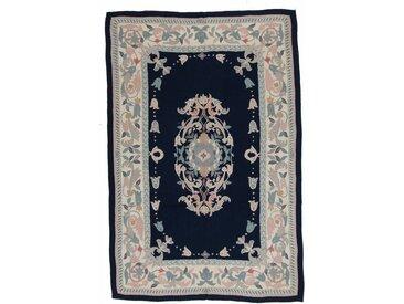Kelim Soozani Teppich Orientteppich 274x183 cm Handgewebt Klassisch
